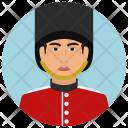 British Soldier Man Icon