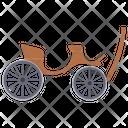 Britska Vintage Transport Horse Driven Icon