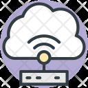 Broadband Connection Network Icon