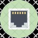 Broadband Network Hub Icon