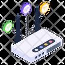 Wifi Device Internet Device Broadband Modem Icon