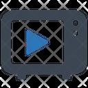 Broadcast Broadcasting Entertainment Icon