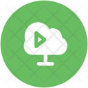 Broadcast Sharing Cloud Icon