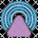 Broadcast Communication Antenna Icon
