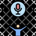 Broadcast Network Announcement Icon