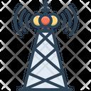 Broadcast Antenna Satellite Icon