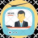 Broadcast Tv Network Icon