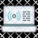 Broadcast Live Text Icon