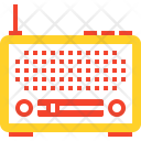 Broadcast Communication Retro Icon
