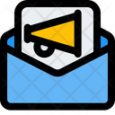Broadcast Message Email Advertising Email Marketing Icon