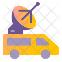 Broadcast Vehicle Icon
