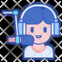 Broadcaster Radio Casting Speaker Icon