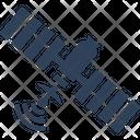 Broadcasting Geostationary Modern Satellite Icon