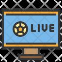 Broadcasting Tv Live Broadcasting Match Broadcast Icon