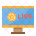 Broadcasting Tv Live Broadcasting Match Broadcast Icon