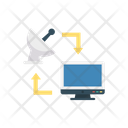Broadcasting Lcd Screen Icon
