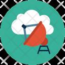 Icloud Satellite Dish Icon