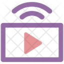 Broadcasting Antenna Radio Icon