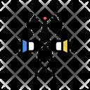 Radio Broadcasting Color Icon