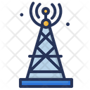 Broadcasting Tv Tower Icon