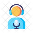 Podcast Monologue Speaking Icon