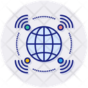 Broadcasting Communication Connection Icon