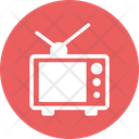 Broadcasting Electronics Monitor Icon