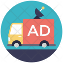Broadcasting Ads Icon
