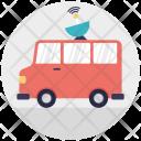 Broadcasting Van Icon