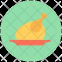Broast Chicken Meat Icon