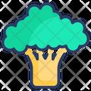 Broccoli Food Vegetable Icon