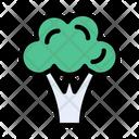 Broccoli Vegetable Cooking Icon