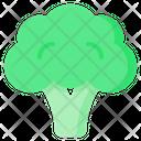 Broccoli Vegetable Vegan Icon