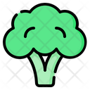 Broccoli Vegetable Vegan Icon