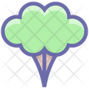 Broccoli Green Flower Eating Icon