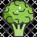 Broccoli Vegetable Vegetarian Icon