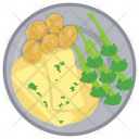 Broccoli With Cheese Icon