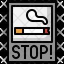 Brochure No Tobacco Day Cigarette Icon