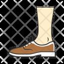 Shoe Footwear Brogue Icon