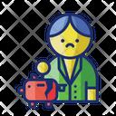Broke Bankrupt Nomoney Icon