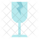 Broken Fragile Glass Icon