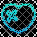 Broken Heart Broken Brekup Icon