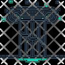 Broken Pillar Split Icon