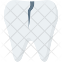 Broken Chipped Teeth Icon