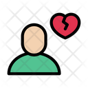 Broken Sad Emotional Icon