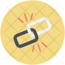 Broken Chain Connection Icon