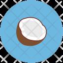 Broken Coconut Half Icon
