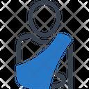 Broken Arm Orthopedics Icon