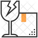 Broken Packing Service Icon