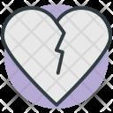 Broken Heart Breakup Icon